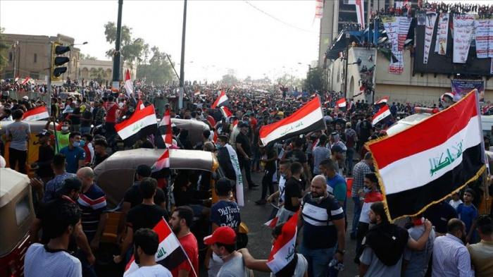 Протесты в Ираке продолжаются с начала октября.