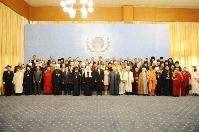 I саммит религиозных лидеров мира прошел в Баку в 2010 году.
