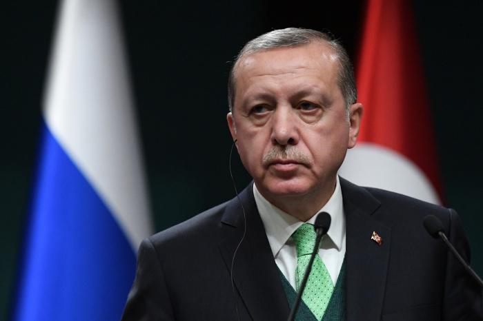 Эрдоган раскритиковал действия ЕС в отношении Турции.