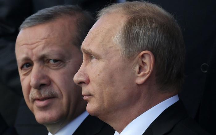 Песков сообщил о ближайшей встрече Путина и Эрдогана.