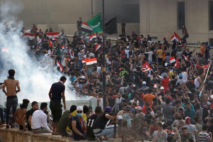 В Ираке продолжаются массовые протесты.