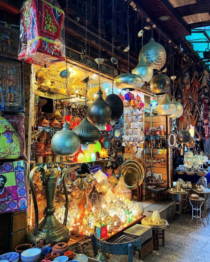 Хан-эль-Халили: восточные базары, как отдельный вид искусства