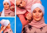 Простой и изящный хиджаб на все случаи жизни