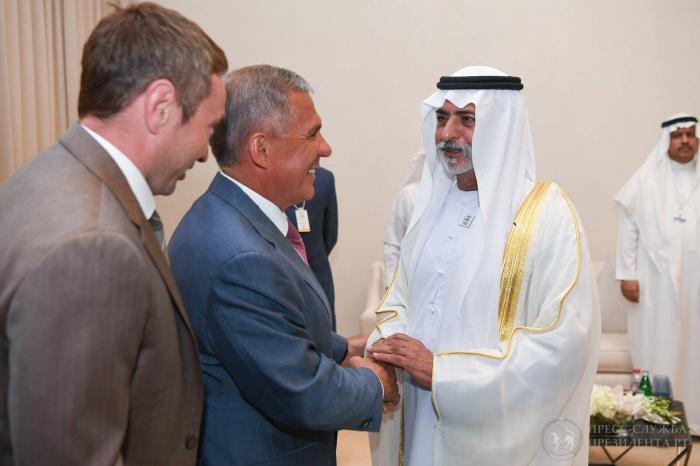 Президент РТ продолжает визит в ОАЭ.