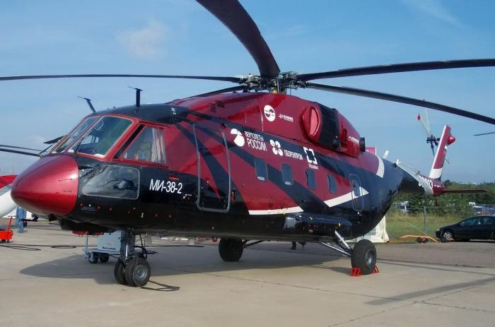 Россия может поставить вертолеты Ми-38 в ОАЭ.