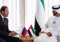 Глава минпромторга России провел переговоры с наследным принцем Абу-Даби