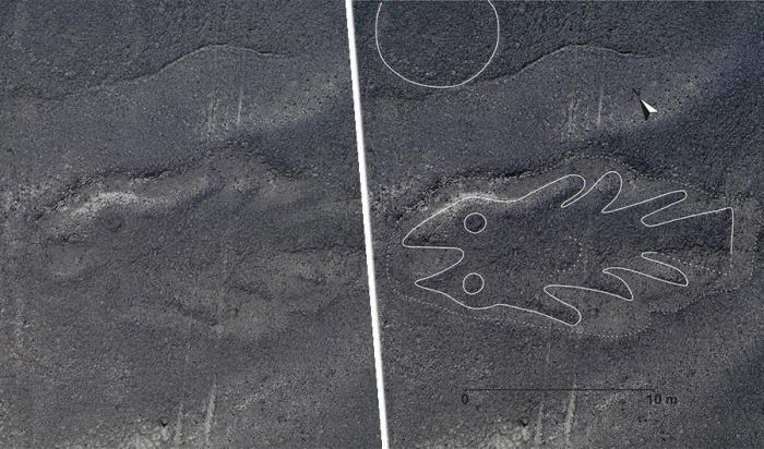 Геоглифы — начерченные на земле узоры, которые нередко настолько велики, что их можно разглядеть лишь с высоты птичьего полета (Фото © Yamagata University)