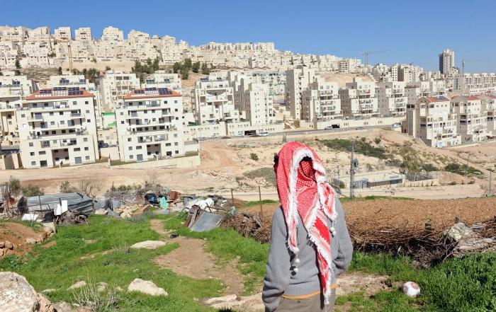 Израильские поселения на палестинских территориях.