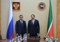 Татарстан и Казахстан рассматривают перспективы расширения торгового сотрудничества