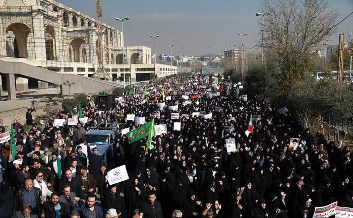 В Иране продолжаются массовые протесты.