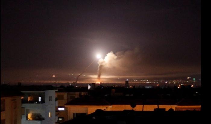 Взрывы в Дамаске.