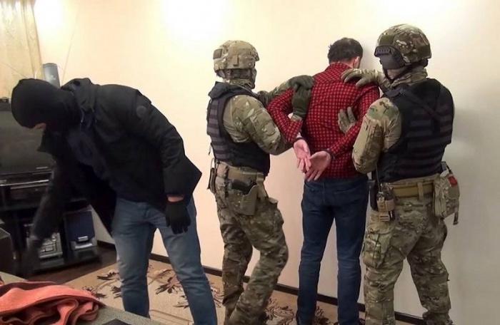 Кадры задержания экстремистов.