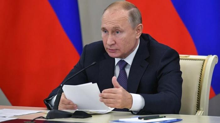 Владимир Путин провел заседание Совбеза России.