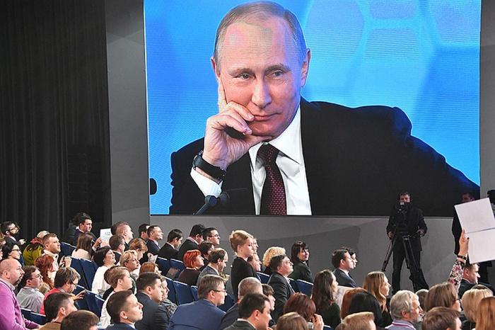 В Кремле назвали дату большой пресс-конференции Владимира Путина.