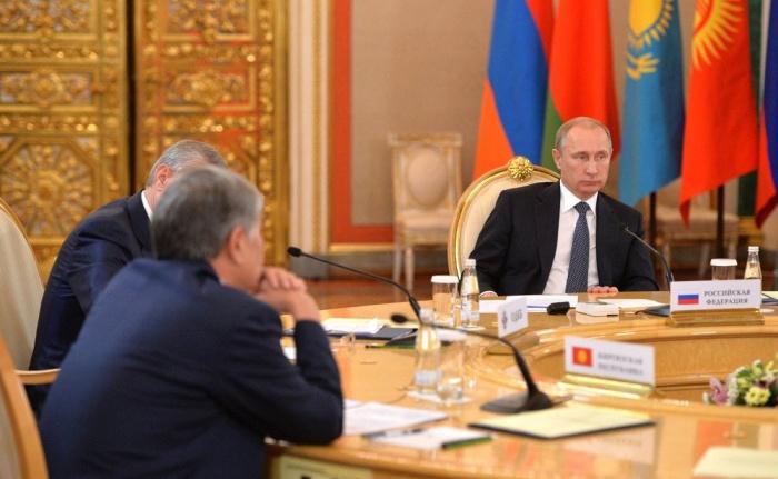 Владимир Путин примет участие во встрече глав стран ОДКБ