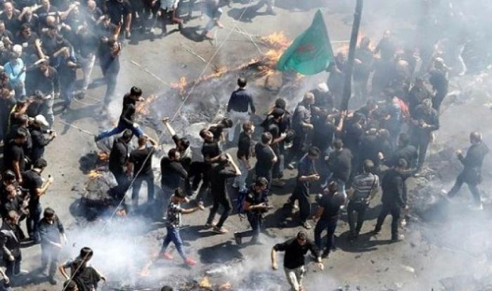 Протесты в Иране сопровождались беспорядками.