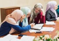 В Галиевской мечети прошло очередное занятие для мусульманок