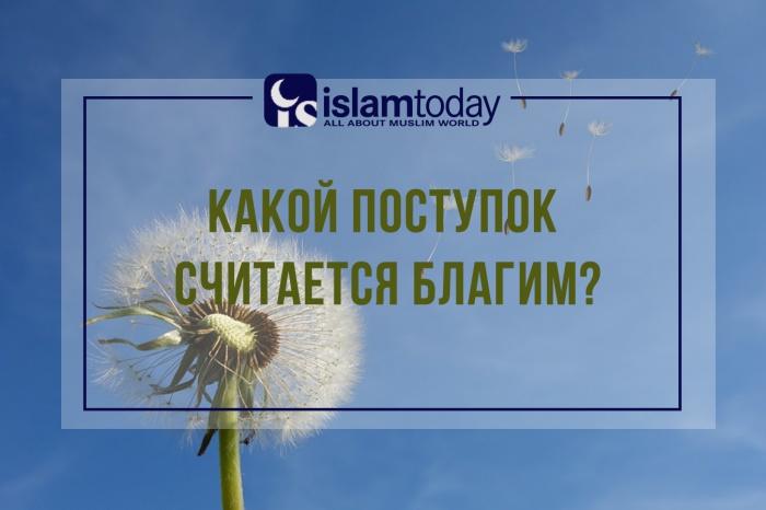 Какие поступки в Коране принято считать благими? (Источник фото: pixabay.com)