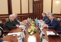 Татарстан и Казахстан расширяют межпарламентские связи