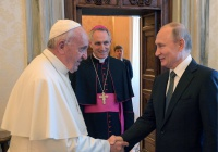 Папа Римский в послании Путину заявил, что молится за него