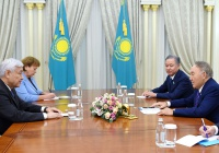 Казахстан и Татарстан обсудили развитие сотрудничества