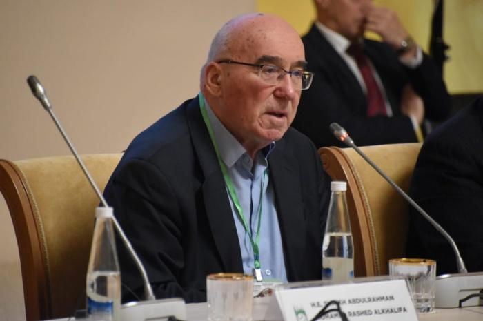 Вениамин Попов на заседании ГСВ.