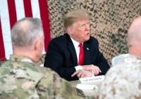 Дональд Трамп неожиданно прилетел в Афганистан