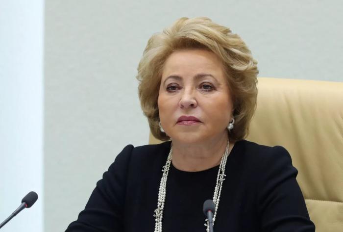 Валентина Матвиенко поприветствовала участников заседания ГСВ.