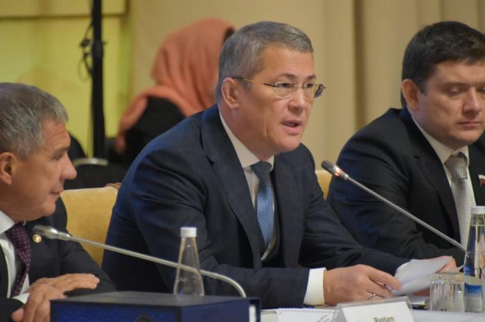 Радий Хабиров на заседании ГСВ.