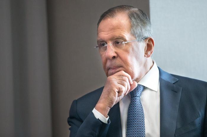 Сергей Лавров поприветствовал учатсников заседания ГСВ.