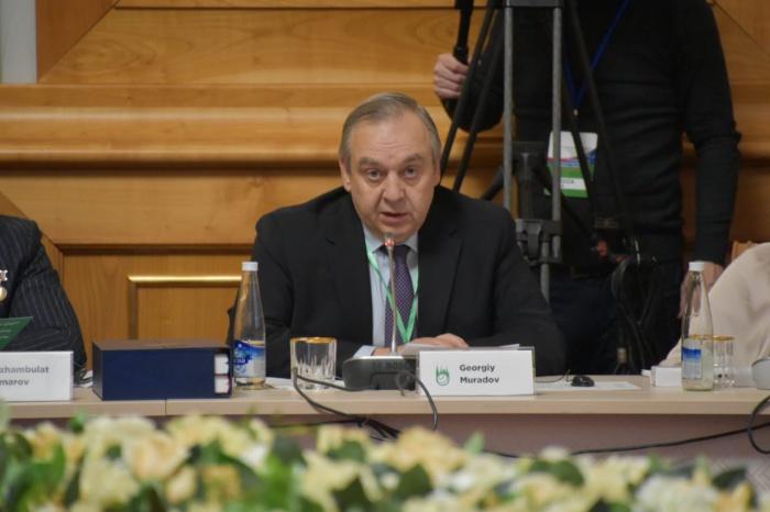 Георгий Мурадов на заседании ГСВ.