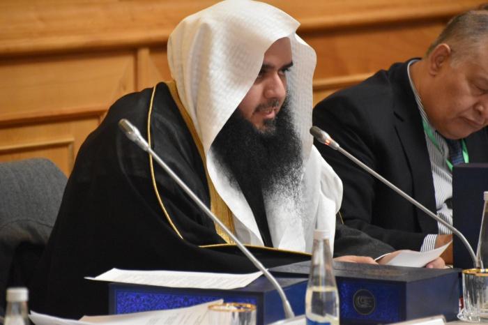 Мохаммед бин Абдул Арифи на заседании.
