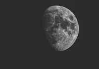 Ученые зафиксировали падение луны на Землю