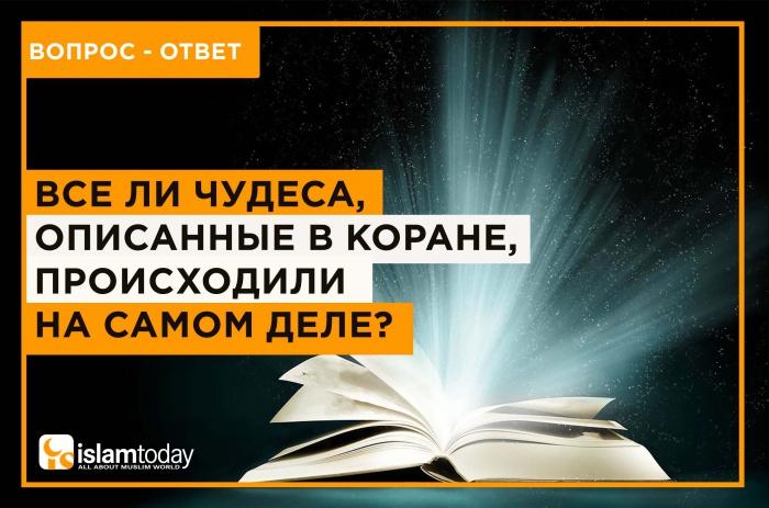 Было ли в реальности все, что описанов Коране? (Источник фото: yandex.ru)