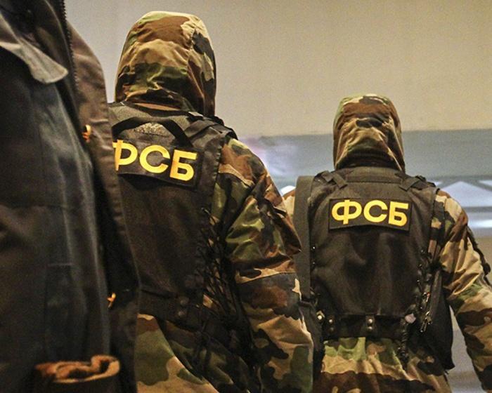 Сотрудники ФСБ задержали экстремистов.