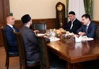 ДУМ РТ посетил представитель администрации президента России
