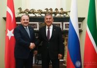 Минниханов: Турция – один из ведущих партнеров Татарстана