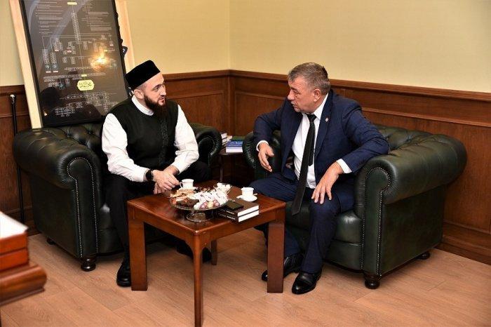 Встреча прошла в муфтияте.