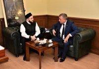 Муфтий РТ обсудил с главой Спасского района планы по развитию Древнего Болгара