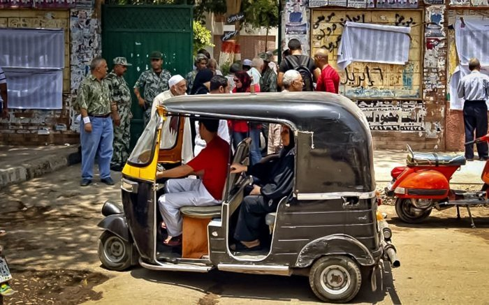 В Каире может не остаться моторикш.
