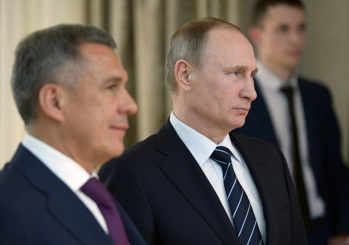 Президент Татарстана анонсировал скорый визит в республику Владимира Путина.