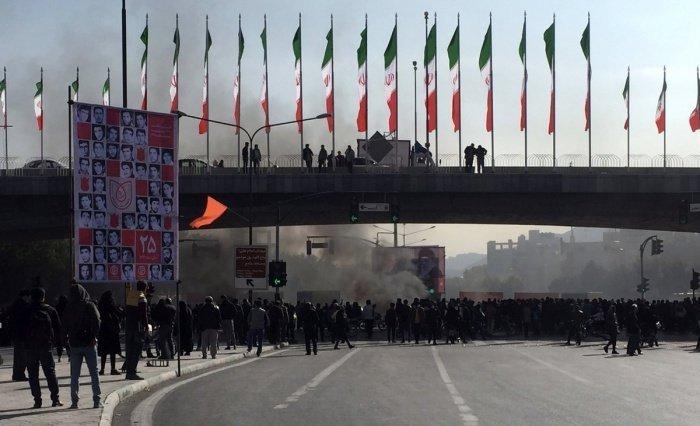В Иране прошли массовые протесты.