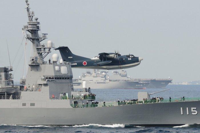 Японские моряки могут отправиться на Ближний Восток.