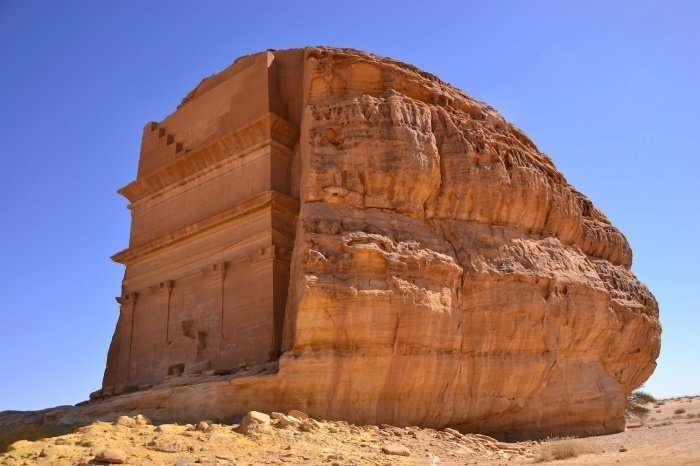 Самая большая гробница, построенная набатейцами в 1 веке нашей эры ( CC Sammy Six)