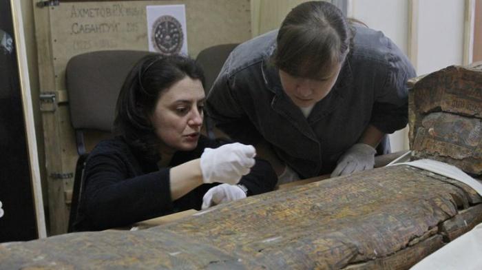 Фонды Национального музея РТ оценила научная делегация из ГМИИ им. А. С. Пушкина.