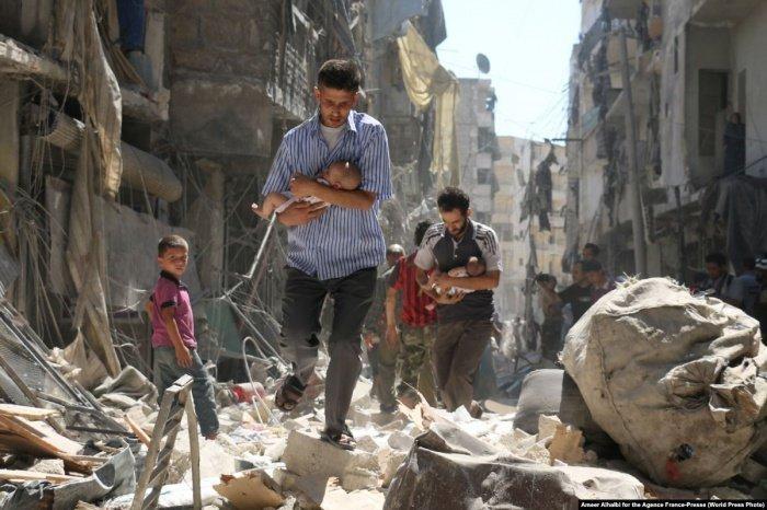Война в Сирии унесла жизни сотен тысяч человек.