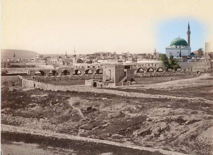 Прошлое и настоящее Палестины в одном снимке