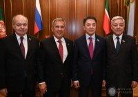 Минниханов: Татарстан будет способствовать укреплению отношений России и Казахстана