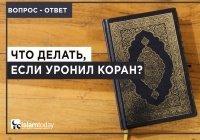 Что делать, если человек уронит Коран? Правда ли, что это к несчастью?