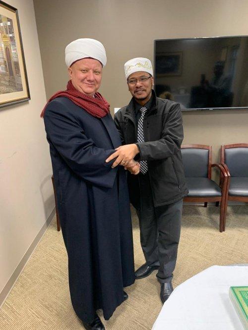 Мусульмане России и США укрепляют сотрудничество.